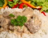 Elaine's Quick and Easy Beef Stroganoff
