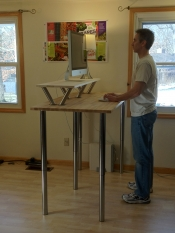 Stand-biased desks: A possible way of combating childhood obesity