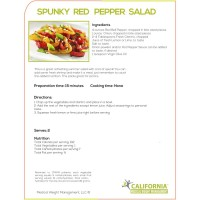 Spunky Red Pepper Salad