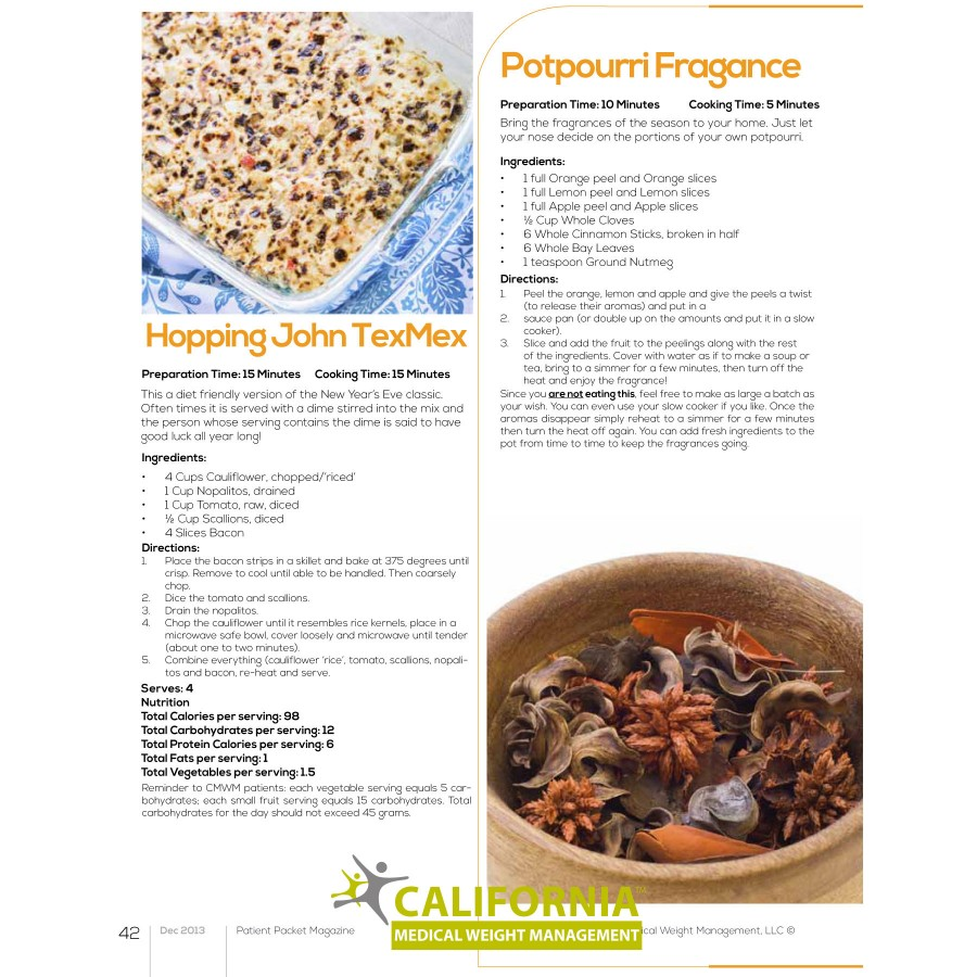 Dececmber Packet Recipes - Page 1