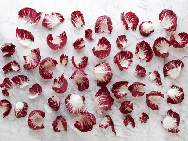 54 Radicchio Leaves